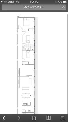 Small House Design, Ideas Para, Locker Storage, House Plans, Projects To Try, Floor Plans, Slim, America, Flooring