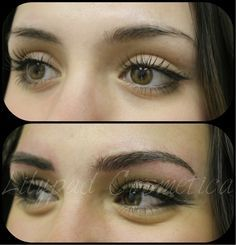 View Ana Terzic's permanent eyebrow, microblading before and after gallery