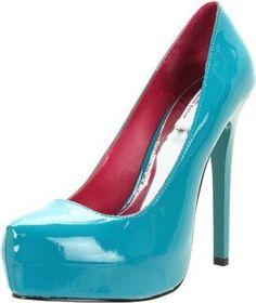 c6fdda45cf1 shopstyle.com  MIA Limited Edition Women s Vixen Platform Pump Blue Shoes