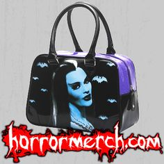 Munsters - Lily handbags are back in stock this week at http://horrormerchstore.com/Munsters-Lily-handbag.html :)