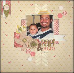Papi & Hijo - Scrapbook.com