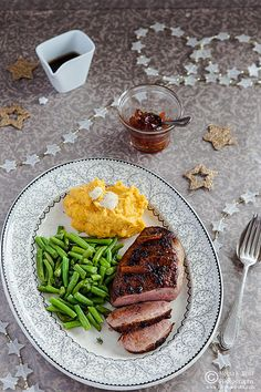 Orange Marmalade Glazed Duck Breasts with Parsnip Pumpkin Truffle ...