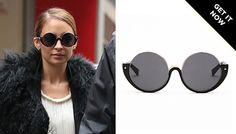 Nicole Richie never steps outside without a pair of sunglasses!