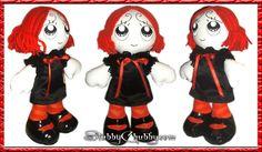 Ruby Gloom doll by Mekurakumo