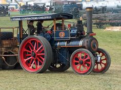 4x4 Wheels, Steam Tractor, Old Tractors, Steamers, Vintage Farm, Steam Engine, Stirling, Pumping, Rollers