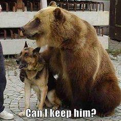Can I keep him?
