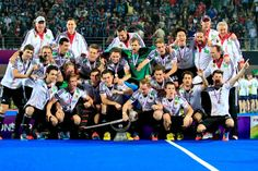 Ultimately Germany clinched the Hero Men's Champions Trophy 2014 by defeating Pakistan in a interesting match here at Kalinga Stadium. Certainly it was the culmination of the Hero Men's Champions Trophy 2014 when Germany lifting the glittering silver.