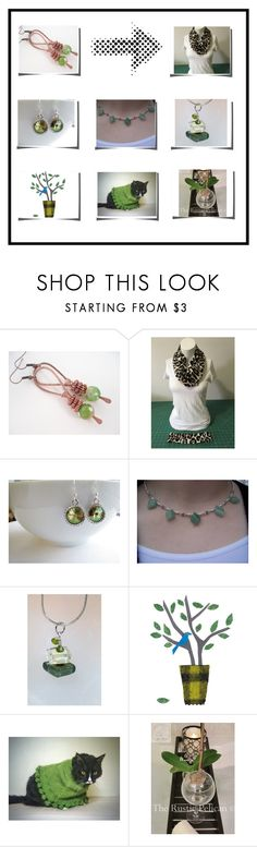 """""""SO Pretty!"""" by therusticpelican ❤ liked on Polyvore featuring modern, contemporary, rustic and vintage"""