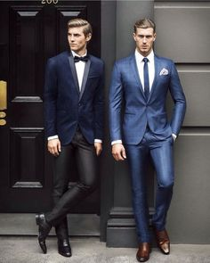 Pulling a suit off the rack is easy; what's difficult however, is pulling off the suited look. And if you think that you can make a great first impression in just about any suit that you buy from your local department store, you are very wrong!  #mens #fashion #style