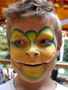 Grimtout maquillage l 39 eau tigre rugissant tape 4 maquillages pinterest maquillage - Maquillage loup facile ...
