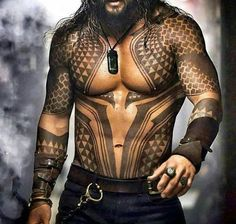 Aquaman Temporary Tattoos for Cosplayers Custom Made – Tattoo Styles & Tattoo Placement Maori Tattoos, Tattoo Tribal, Hawaiianisches Tattoo, Filipino Tattoos, Marquesan Tattoos, Samoan Tattoo, Sexy Tattoos, Body Art Tattoos, Chest Tattoo