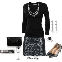 """""""Holiday Party"""" by keri-cruz on Polyvore"""