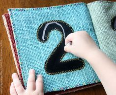 Cute idea for a quiet book