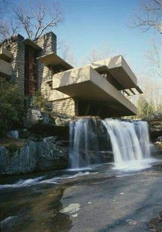 Frank Lloyd Wright- I want to go back in the spring next time...