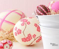 Flower Egg Design