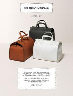 DAKS Hero Handbag & Spring/Summer Women's Jackets In-Store Now