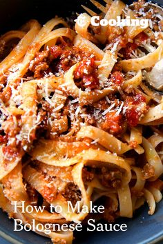 """After the death in 2013 of Marcella Hazan, the cookbook author who changed the way Americans cook Italian food, The Times asked readers which of her recipes had become staples in their kitchens. Many people answered with one word: """"Bolognese."""" So here it is: Ms. Hazan's classic, go-to Bolognese sauce, which one reader called """"the gold standard."""" Try it and see for yourself. (Photo: Craig Lee for The New York Times)"""