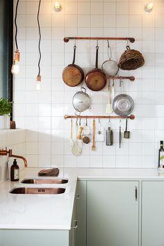 Yay or nay: zichtbare leidingen in de keuken