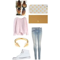 Untitled #20 by fabfive1999 on Polyvore featuring polyvore, fashion, style, Chicwish, rag & bone, Keds, Dogeared, Jeweliq and Kate Spade