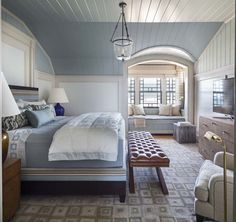 hamptons style bedroom interior design - Internal Home Design Hamptons Style Bedrooms, Hamptons Decor, Hamptons House, The Hamptons, Home Design, Interior Design, Design Homes, Interior Ideas, Design Ideas