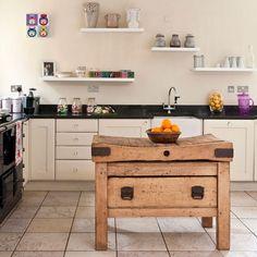 decorar sustentável: Decorando cozinhas...