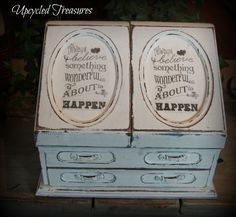 Vintage Upcycled Jewelry box https://www.facebook.com/Upcycled-Treasures-1403647943237665/?ref=hl