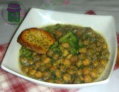 Zuppa di ceci con broccoli