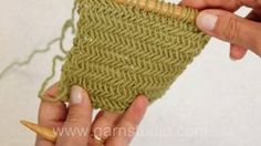 Herringbone knitting stitch. This pretty herringbone texture is not as complicated as it may look. The classic texture is perfect for patter...