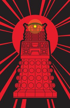 Day 4 [favorite villain]: THE DALEKS. No, they aren't new. No, they aren't much of a surprise anymore. I love them because they're a major part of the show. Doctor Who without Daleks???