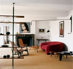 Jean Prouve, Jean Royere, Charlotte Perriand, ... Masterpieces, Patrick Seguin's Paris Apartment   Sumally