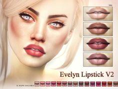 TSR : Pralinesims' Evelyn Lipstick V2 N64.