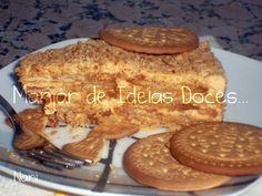 Receita Sobremesa : Bolo de bolacha com leite condensado cozido de Sandra-alves
