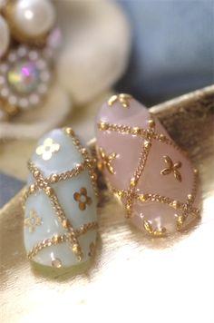 Could do Louis Vuitton nails:)