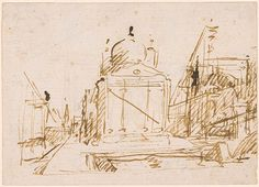 Canaletto, View of the Piazza San Marco with the Procuratie Vecchie
