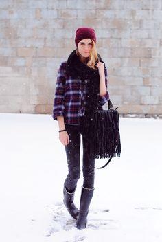 frozen flannel frolic.