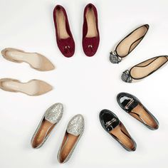 Love the cream shoes, perfect for shopping