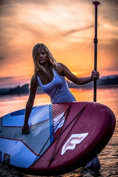 SUP evening by Stefan Bierl