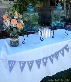 free wedding pennant printables