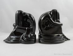 Frankoma Weeping Lady Set of Bookends Dreaming by BerniesBasement, $375.00