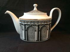 Antique Teekanne - Teapot  Rosenthal Fornasetti Palladiana Porcelain