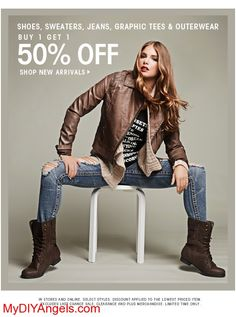 Wet Seal's 1 Day of Free Ship (No Min!) | BOGO 50% Off EVERYTHING! | MY DIY ANGELS, DIY and Extreme Couponers
