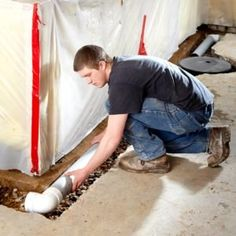 Finishing a basement can turn storage into a living space. Framing and insulating basement walls is the core of a basement finishing project. Insulating Basement Walls, Framing Basement Walls, Basement Insulation, Damp Basement, Cozy Basement, Basement Windows, Basement House, Basement Bedrooms, Basement Flooring