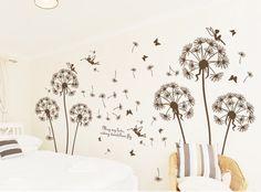 Aliexpress.com: Comprar Envío gratis Dandelion vinilos decorativos ...