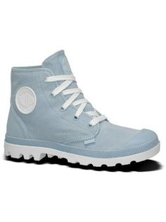 Original Women39s Palladium Shoes  Palladium Flex Mid Top Womens Boots Blue