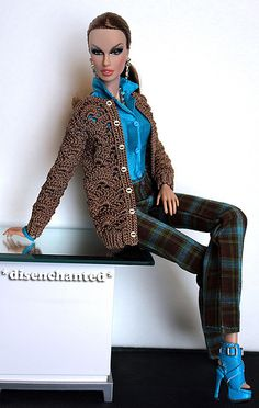 Flashback to the 70s - A Nod to the Yardley Girl | FNO Bergdorf Goodman FR2 by Integrity Toys