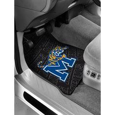 Memphis Tigers NCAA Car Front Floor Mats (2 Front) (17x25)