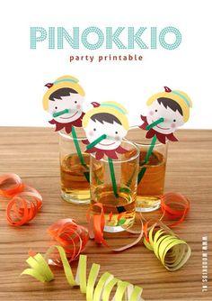 Studio ToutPetit: Freebie Fridays * Pinocchio Party Printable