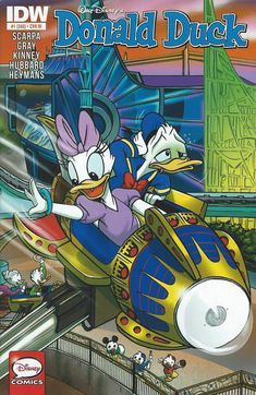 Cover for Donald Duck (IDW, 2015 series) #1 / 368 [Cover A]