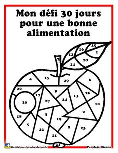 Défi 30 jours pour une bonne alimentation Move Your Body, Fitness Planner, 21 Day Fix, C'est Bon, Motivation Inspiration, Health Fitness, Challenges, Bullet Journal, Workout