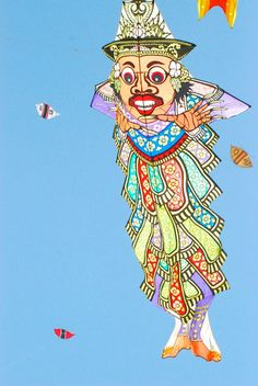 Hmmm... where to celebrate the winter solstice in the world? Perhaps a kite festival? Balinese Kite Festival